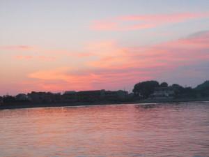Sonnenuntergang auf Eirakoussa