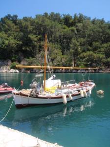Fischerromantik in Gaieos/Insel Paxos
